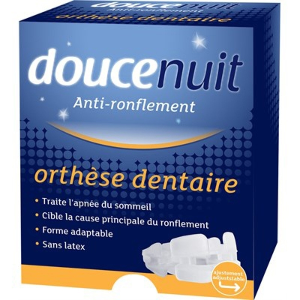 Doucenuit orthèse dentaire - douce nuit -201455
