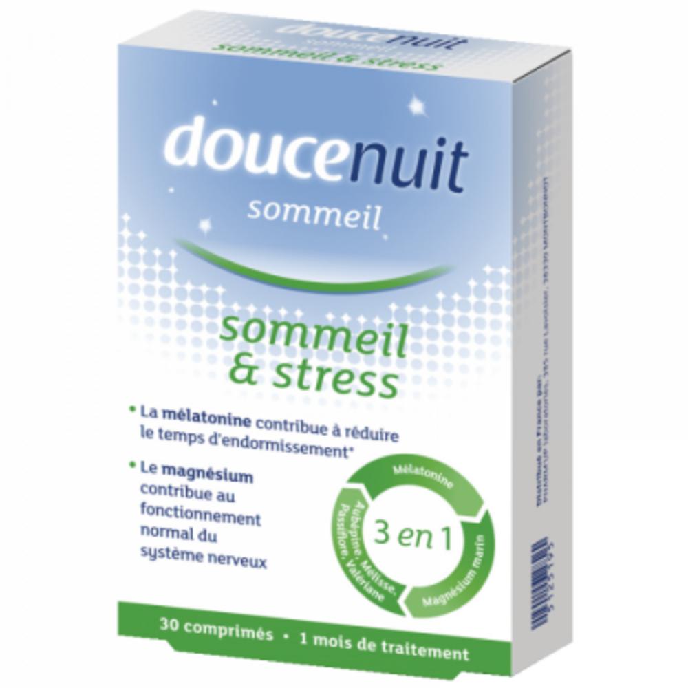 DOUCENUIT Sommeil et Stress - 30 comprimés - Douce Nuit -200780