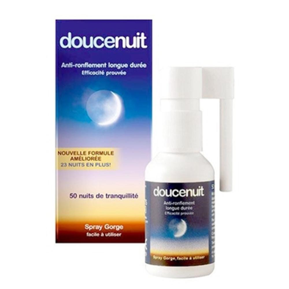 Doucenuit spray gorge goût menthe - 23,5ml - 22.0 ml - anti-ronflement - douce nuit Anti-Ronflement-7207