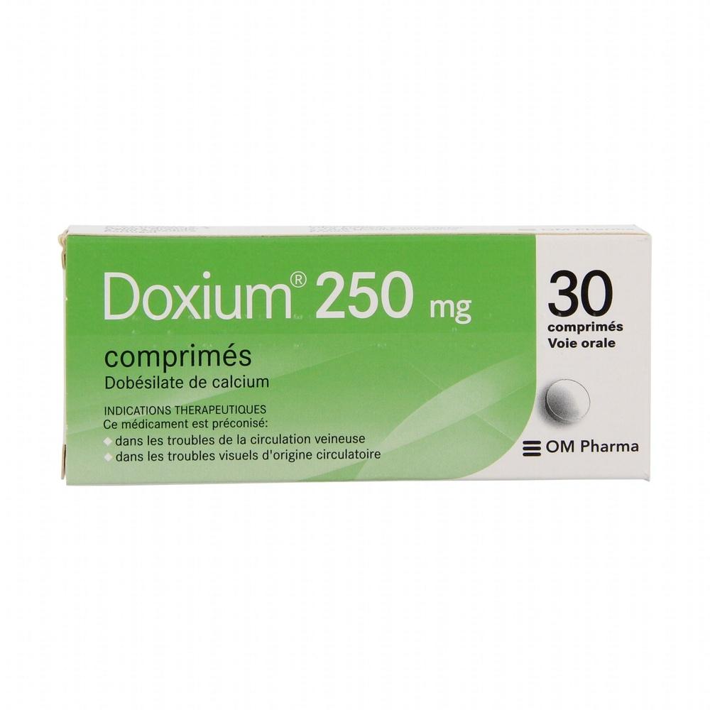 Doxium 250mg - 30 comprimés - laboratoire om pharma -206945