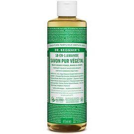 Dr bronner's savon pur végétal 18-en-1 amande 473ml - dr bronner s -220627