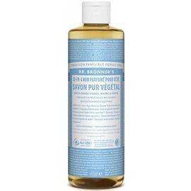 Dr bronner's savon pur végétal 18-en-1 non parfumé pour bébé 473ml - dr bronner s -220637