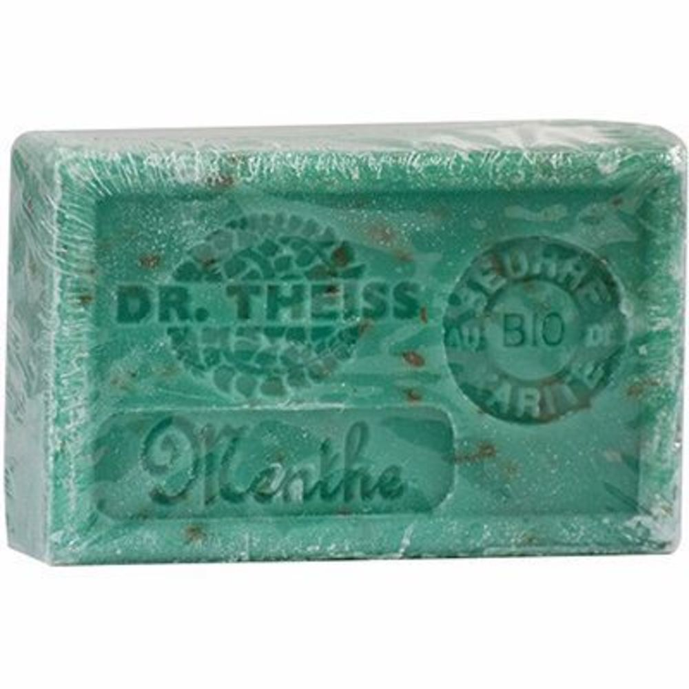 Dr theiss savon de marseille menthe broyée 125g - dr theiss -215957