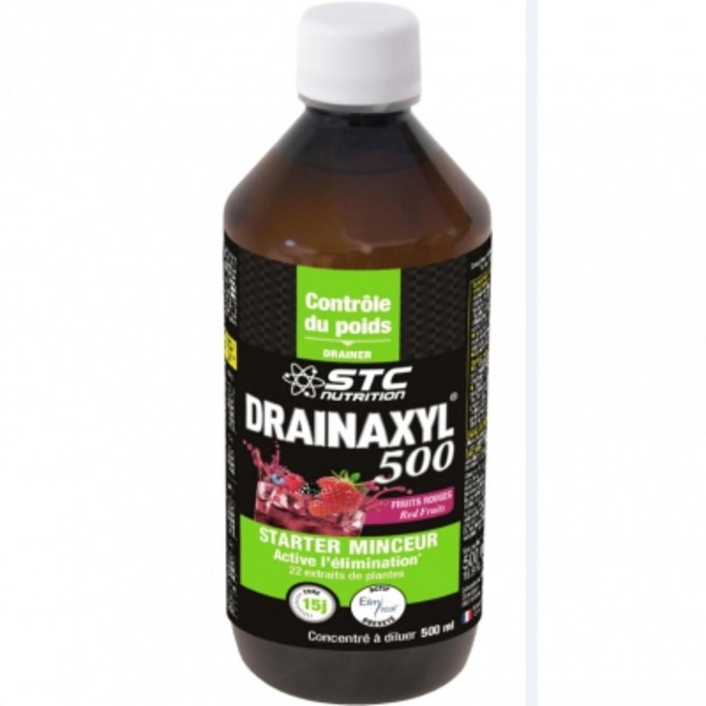 Drainaxyl 500 - fruits rouges - 500.0 ml - stc nutrition Contre la rétention d'eau et élimine les toxines-11355
