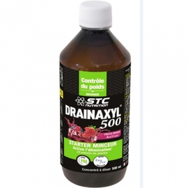 Drainaxyl 500 fruits rouges - 500.0 ml - stc nutrition Contre la rétention d'eau et élimine les toxines-11355
