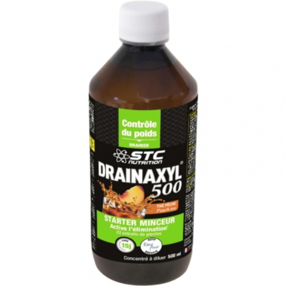 Drainaxyl 500 - thé pêche - divers - stc nutrition -138226