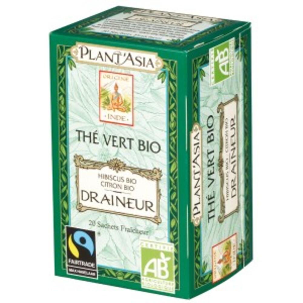 Draineur - 20.0 unites - thés bio - plant'asia -16210