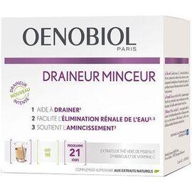 Draineur minceur goût thé 21 sticks - oenobiol -224350