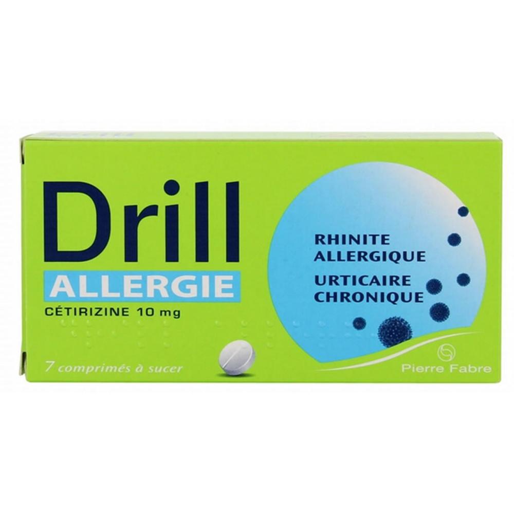 Drill allergie - 7 comprimés à sucer - pierre fabre -192558