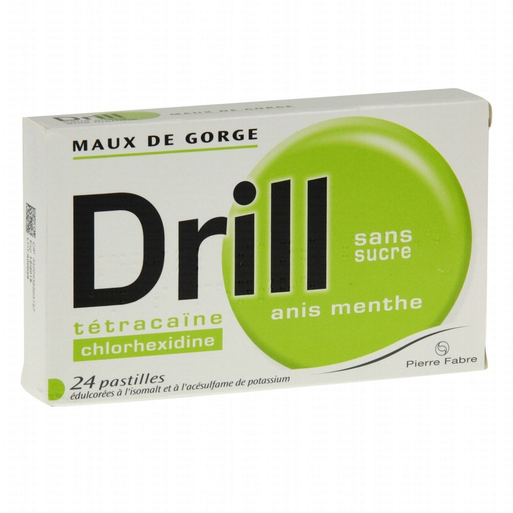 Drill sans sucre anis menthe -192715