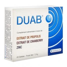 Duab 20 gélules - nutrivercell -199221