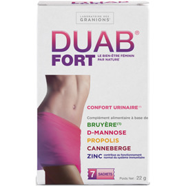 Duab fort 7 sachets - granions -223116