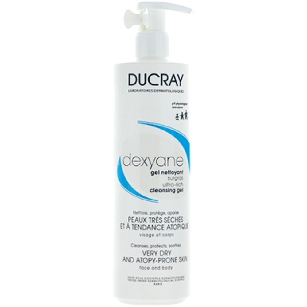 Ducray dexyane gel nettoyant - 400ml - ducray -205857