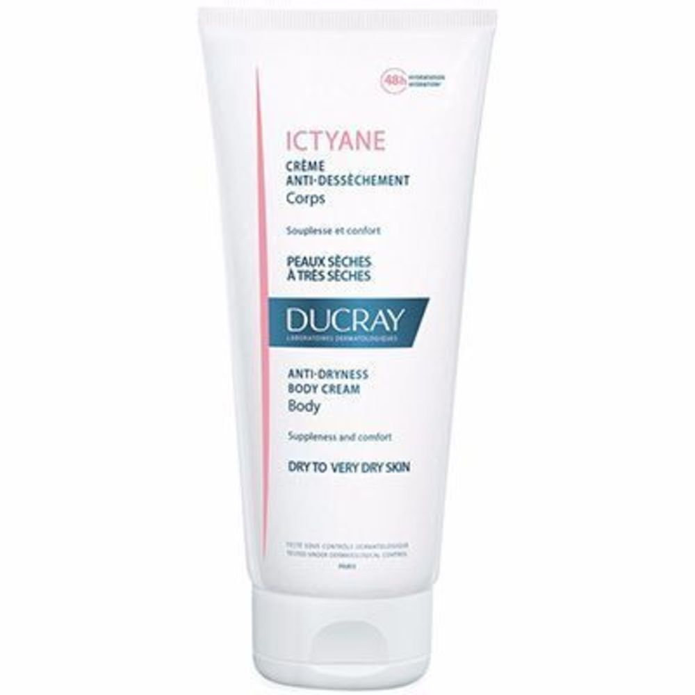 DUCRAY Ictyane Crème Anti-dessèchement Corps 200ml - Ducray -215203