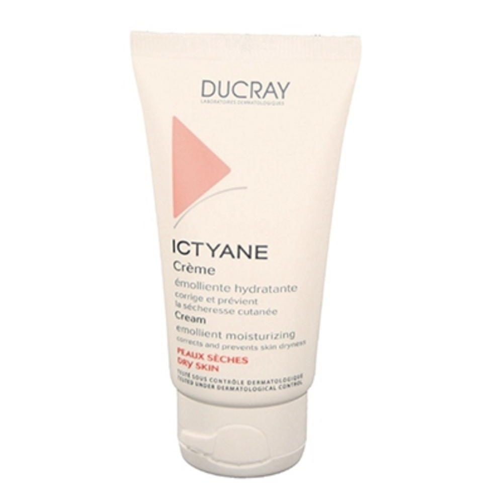 Ducray ictyane crème emolliente - 50ml - 50.0 ml - ducray -144114