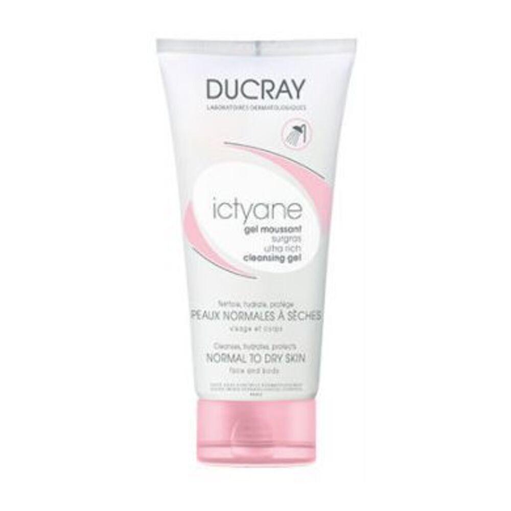 Ducray ictyane gel moussant surgras - 200ml - ducray -204134