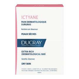 Ducray ictyane pain dermatologique surgras - 100g - ducray -205548