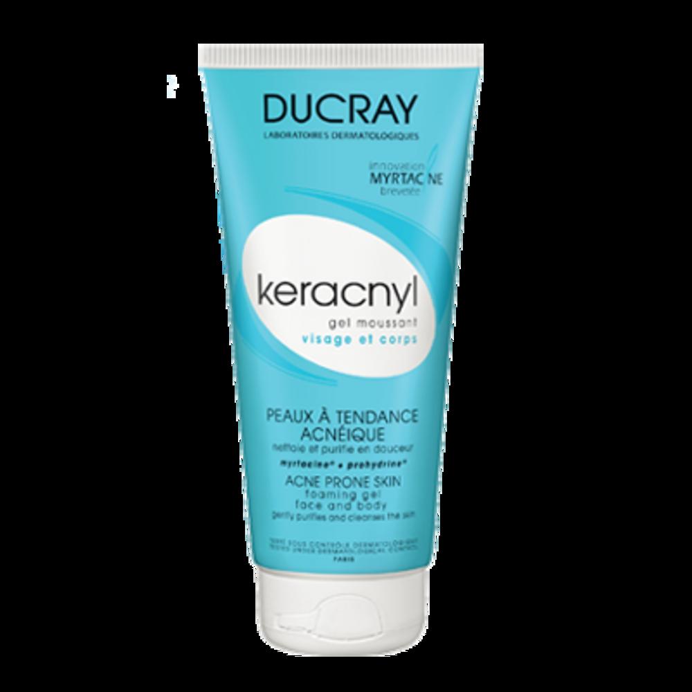 DUCRAY Keracnyl Gel Moussant - 200ml - Ducray -202766