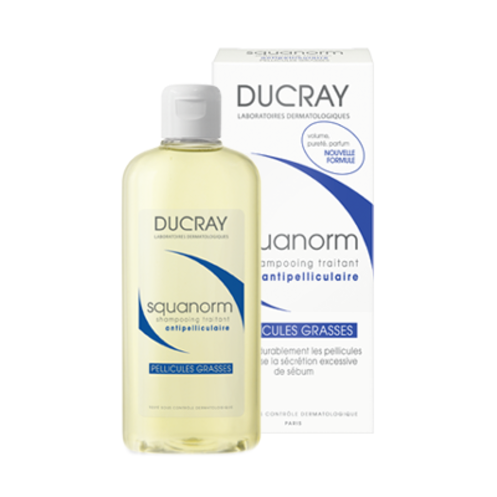 Ducray squanorm shampooing pellicules grasses - ducray -202776