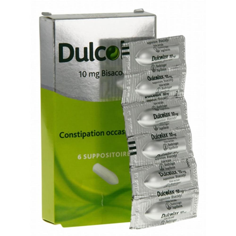 Dulcolax 10mg - 6 suppositoires - boehringer ingelheim -192248