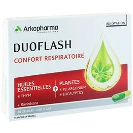 Duoflash confort respiratoire - 20 gélules - arkopharma -211127