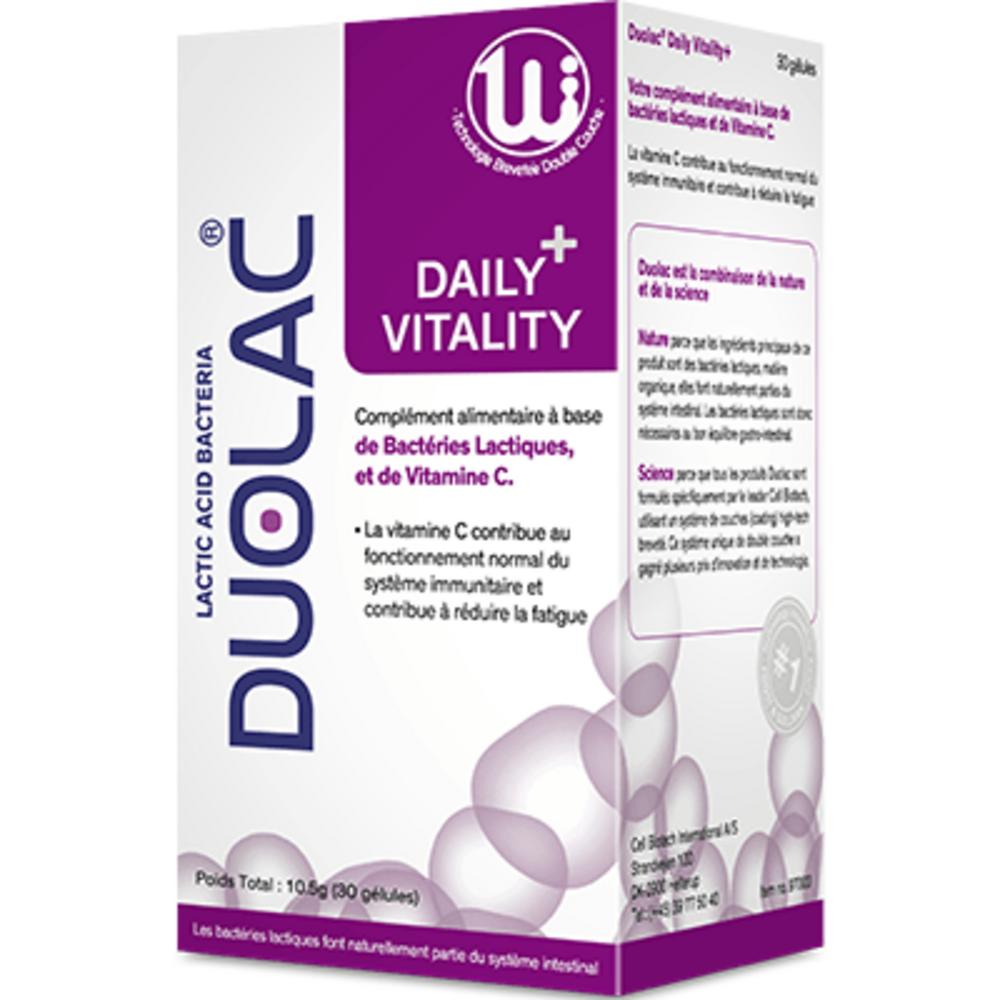Duolac daily+ vitality 30 gélules - duolac -225779