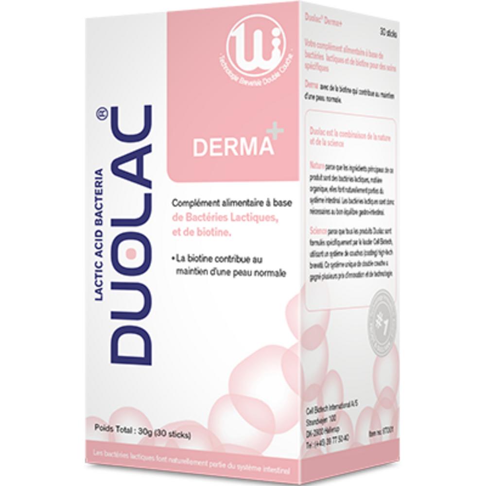 Duolac derma+ 30 sticks - duolac -225780