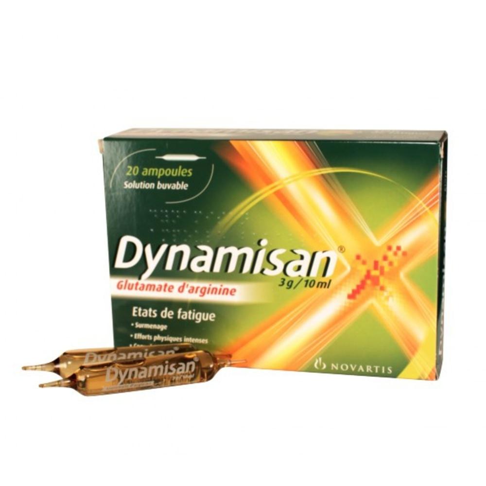 Dynamisan 3g/ - 20 ampoules - 10.0 ml - novartis -192947