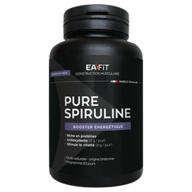 Ea-fit pure spiruline booster energétique 50 comprimés - ea-fit -220883