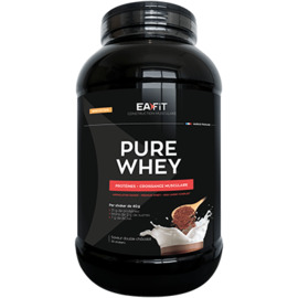Ea fit pure whey protein double chocolat 2.2kg - ea-fit -221556