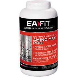 Eafit amino max pro 375 comprimés - 375.0 unites - ea-fit CROISSANCE MUSCULAIRE RAPIDE-14292