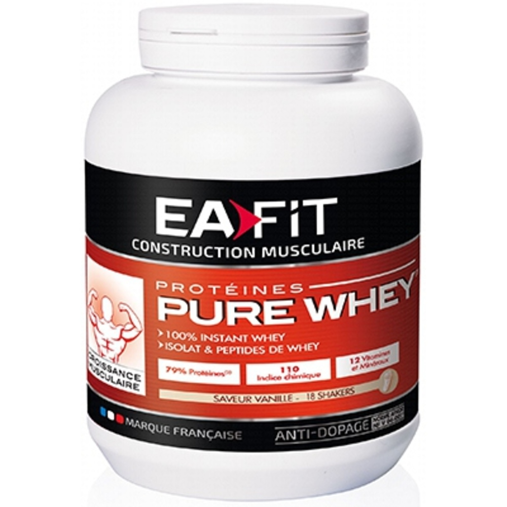 Eafit pure whey vanille Ea fit-123497