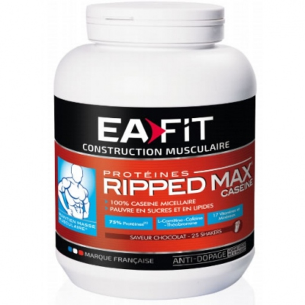 Eafit ripped max caseine chocolat - divers - ea-fit -142045
