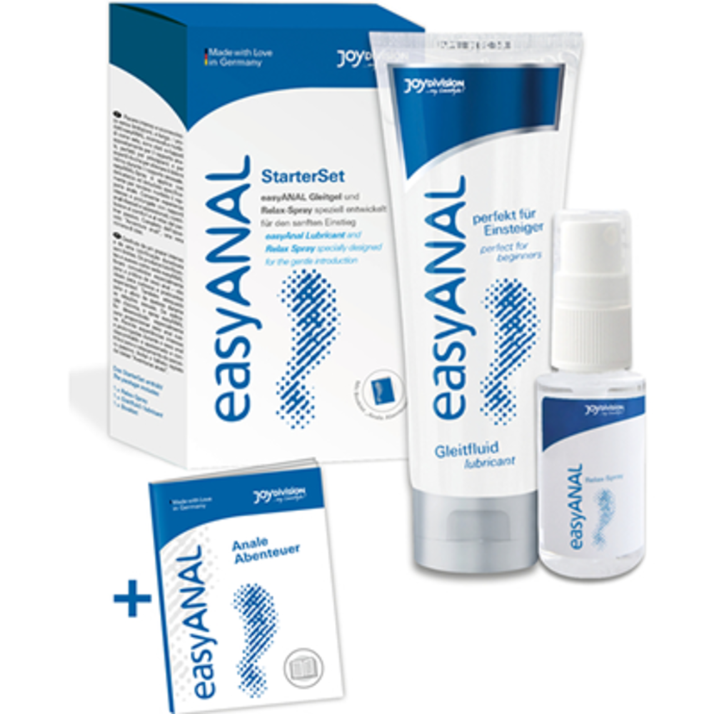 Easyanal starterset kit lubrifiant & spray relaxant Joydivision-223852