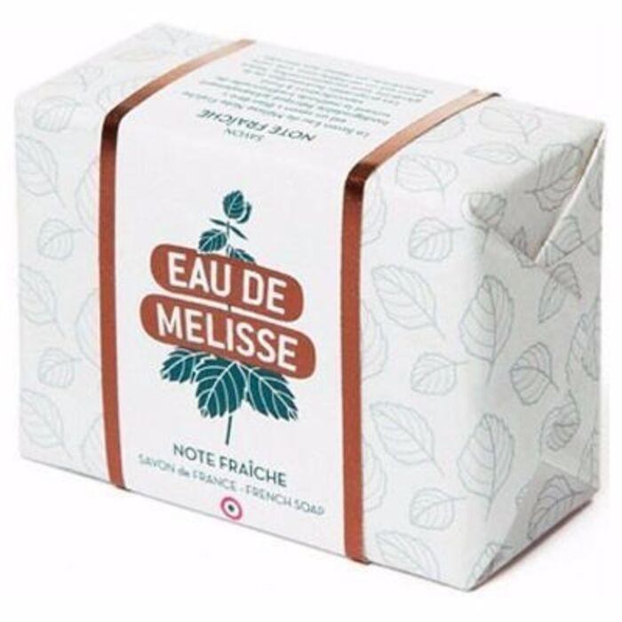 Eau de mélisse note fraîche savon saponifié à froid 100g Boyer-216827
