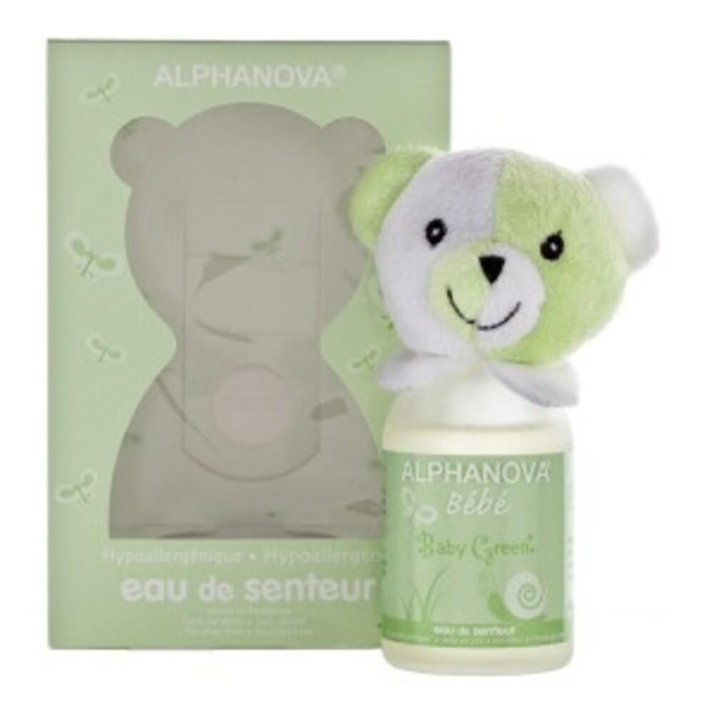 Eau de senteur mixte, baby green - 100 ml - divers - alphanova -139368