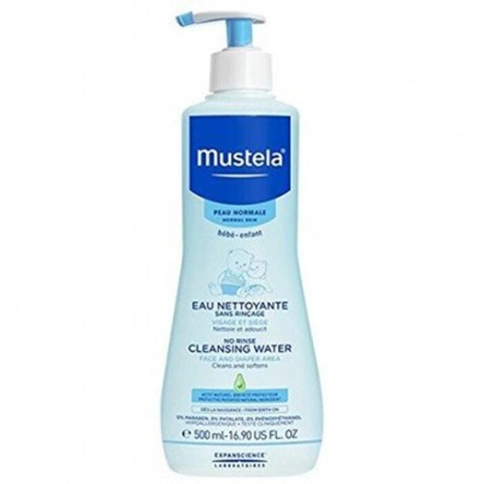 Eau nettoyante sans rinçage 500ml Mustela-210363