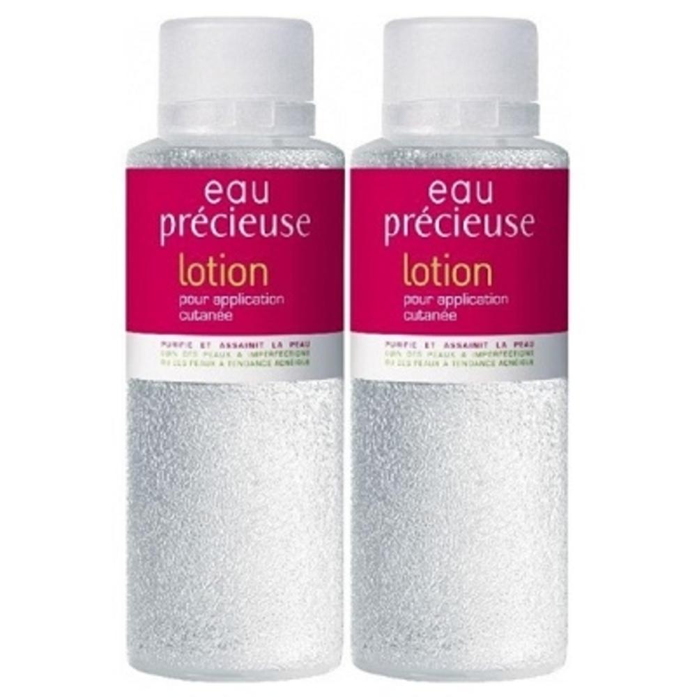 Eau precieuse lotion - lot de 2 - 375.0 ml - omega pharma Purifie et assainit la peau-3484