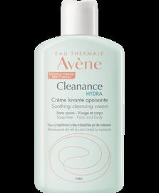 Eau thermale  - cleanance hydra crème lavante apaisante 200mlt - cleanance - avène -223802