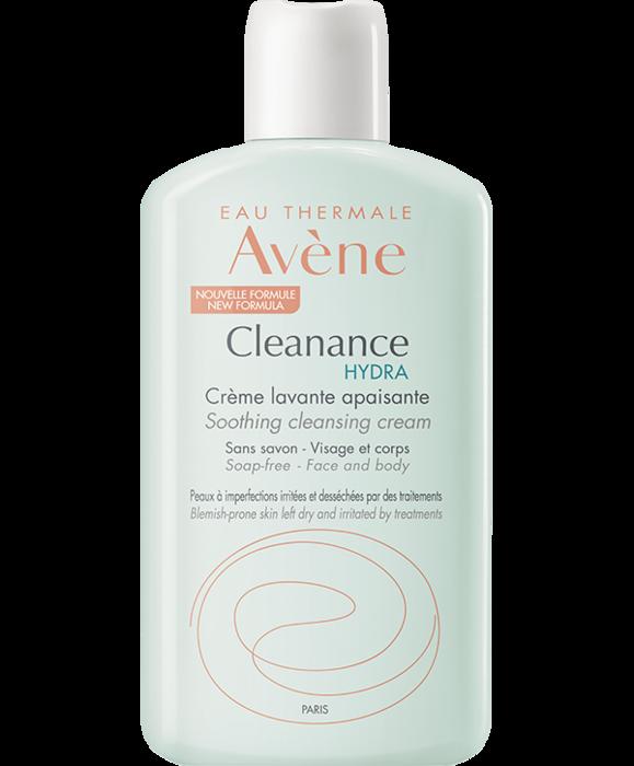 Eau thermale  - cleanance hydra crème lavante apaisante 200mlt Avène-223802