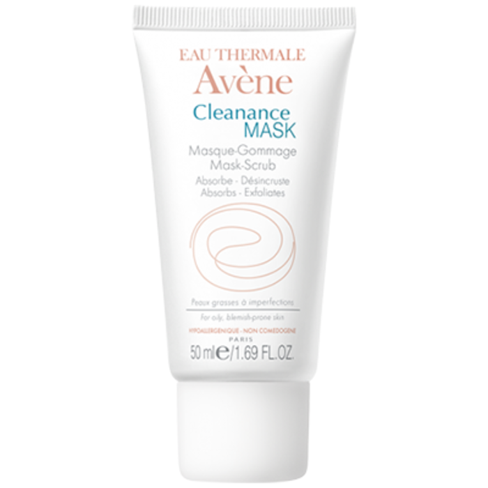 Eau thermale  - cleanance mask masque-gommage 50mlt Avène-146438
