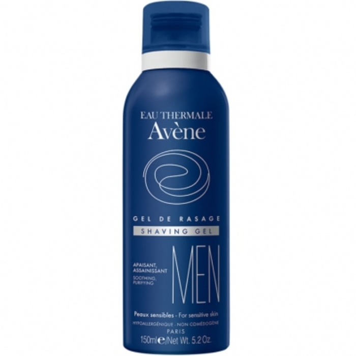 Eau thermale  - men gel de rasage 150mlt Avène-81549