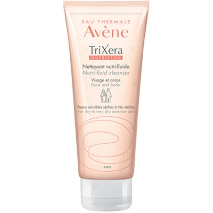Eau thermale  - trixera nutrition gel nettoyant nutri-fluide 100mlt Avène-206464