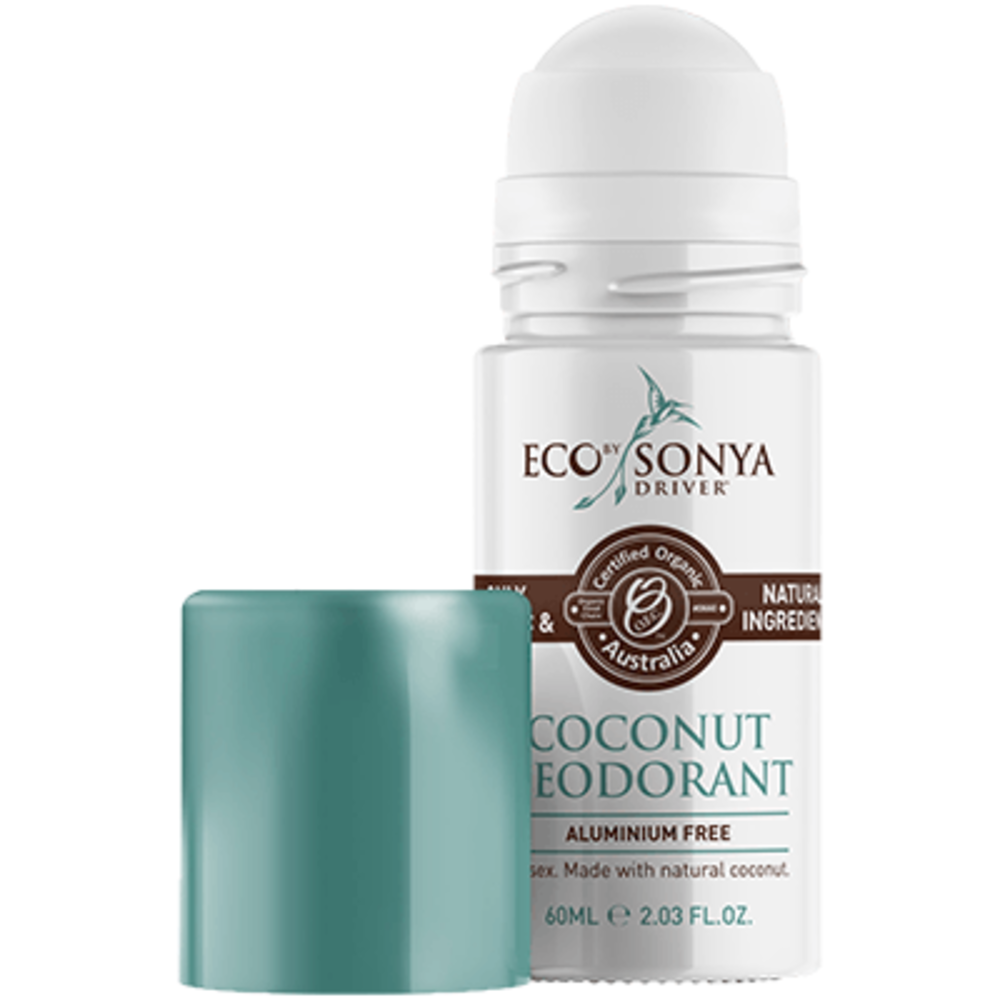 Eco by sonya déodorant roll-on noix de coco 60ml - eco by sonya -215161