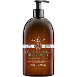 Eco by sonya gel douche coconut & mint body wash 500ml - eco by sonya -226654