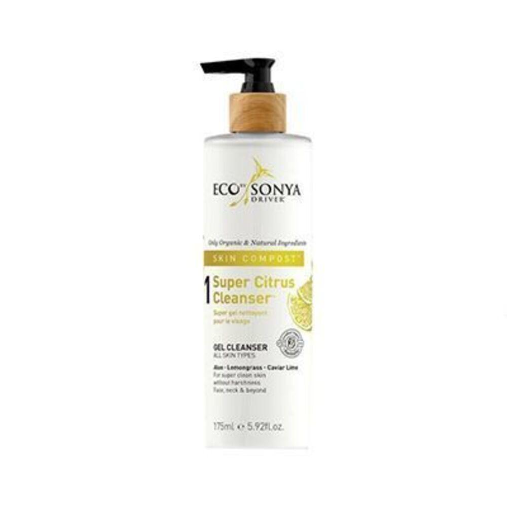 Eco by sonya gel nettoyant super citrus cleanser 175ml - eco by sonya -226658