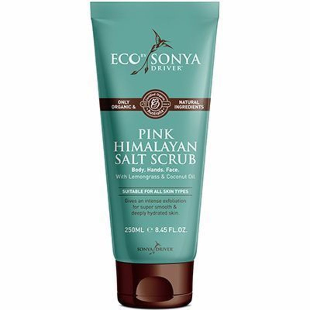 eco by sonya gommage corps au sel rose de l 39 himalaya 250ml eco by sonya achat au meilleur. Black Bedroom Furniture Sets. Home Design Ideas