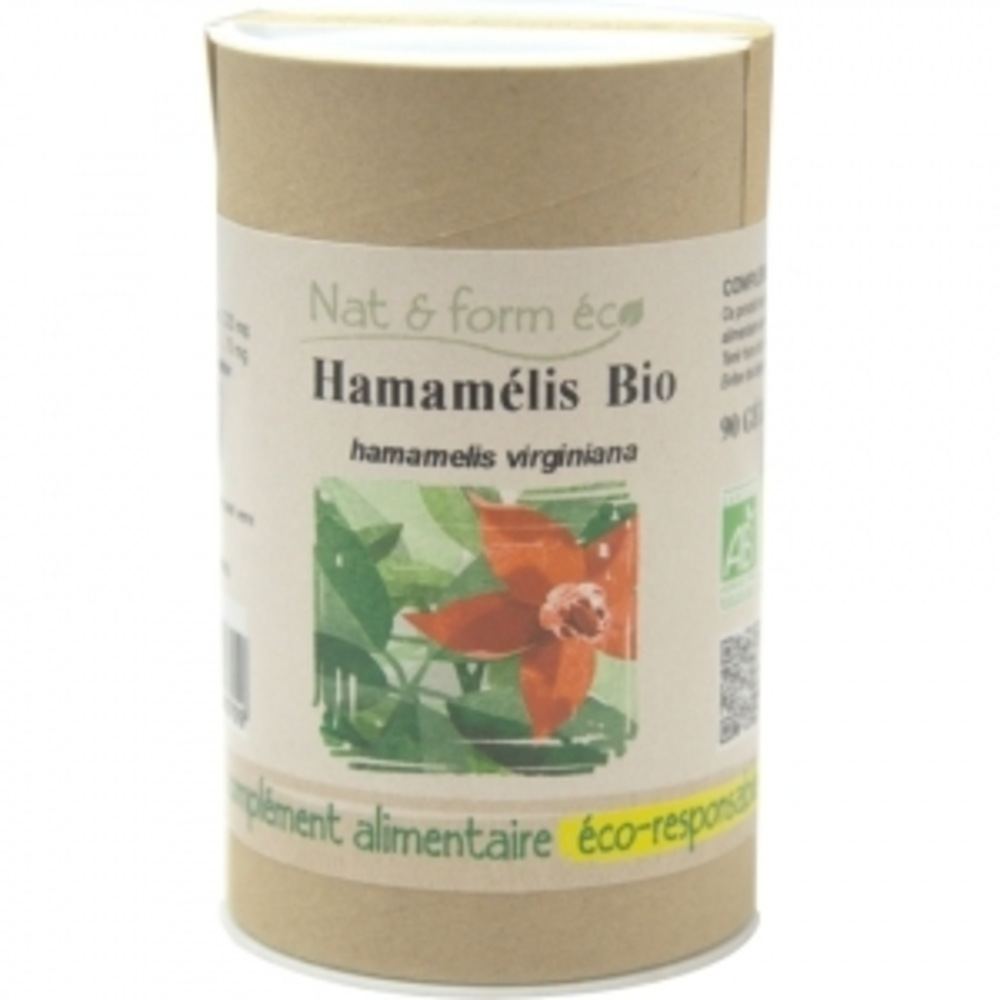Eco hamamélis bio 80 gélules - nat & form -197933