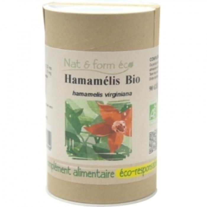 Eco hamamélis bio 90 gélules Nat & form-197933