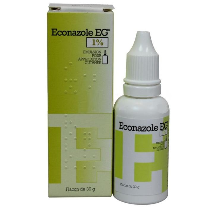 Econazole eg 1% emulsion - 30g Laboratoire eg-193551